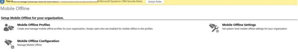 Dynamics CRM 2016 Mobile offline